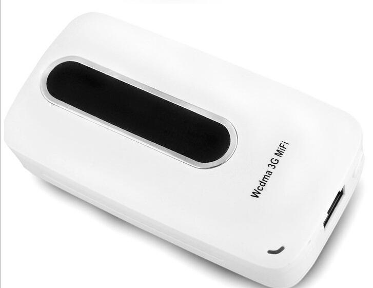 14.4Mbps Unlocked Wireless 3G 3.75G HSPA+ Mifi Wifi Router Built-in 3000mAh Power Bank with Sim Card Slot PK Huawei E5331(China (Mainland))