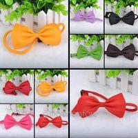 Sugar Color New Fashion Cute Pet Bowknot Tie Bow Necktie Collar Pet Clothing Dog Cat Puppy ZMPJ141#S2