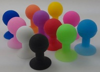 colorful silicone mini octopus sucker phone support, for any kinds of mobile phone,beautful and portable, Color randomly sending