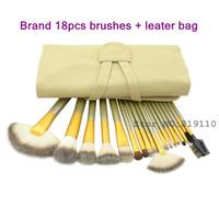 Kit 18 pinceis de maquiagen Cosmetic set  tool Makeup Brush Kit 18 pcs with bag 18Pcs Professional Makeup Brushes Set  Kits tool
