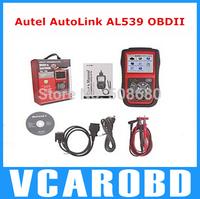 Original Autel AutoLink AL539 OBDII/CAN SCAN TOOL AutoLink AL539 OBD2 CodeScanner Internet Update Multilingual Menu FastShipping