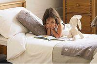 children girls  cute rabbit  soft plush toys  Kids Sleep Calm Doll  43*11 cm , can water wash, beige