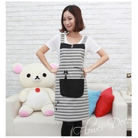 2014 HOT SALE cute aprons for men and women work kitchen stylish pinafore apron