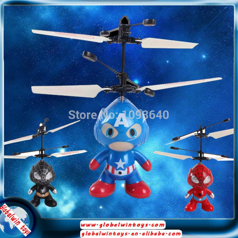 Livraison gratuite 2014 fonctionnant sur batterie jouet volant contrôler librement par vous flottant. cosmonaute jouet amusant