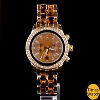 Hot sale 2014 Michaeles watch Fashion Women Rhinestone Dress watch Quartz leopard print Ladies Watch reloj relogio feminino