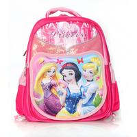 High quality orthopedic 3D Cartoon Snow White Primary backpack children school bags for girls kids mochila infantil