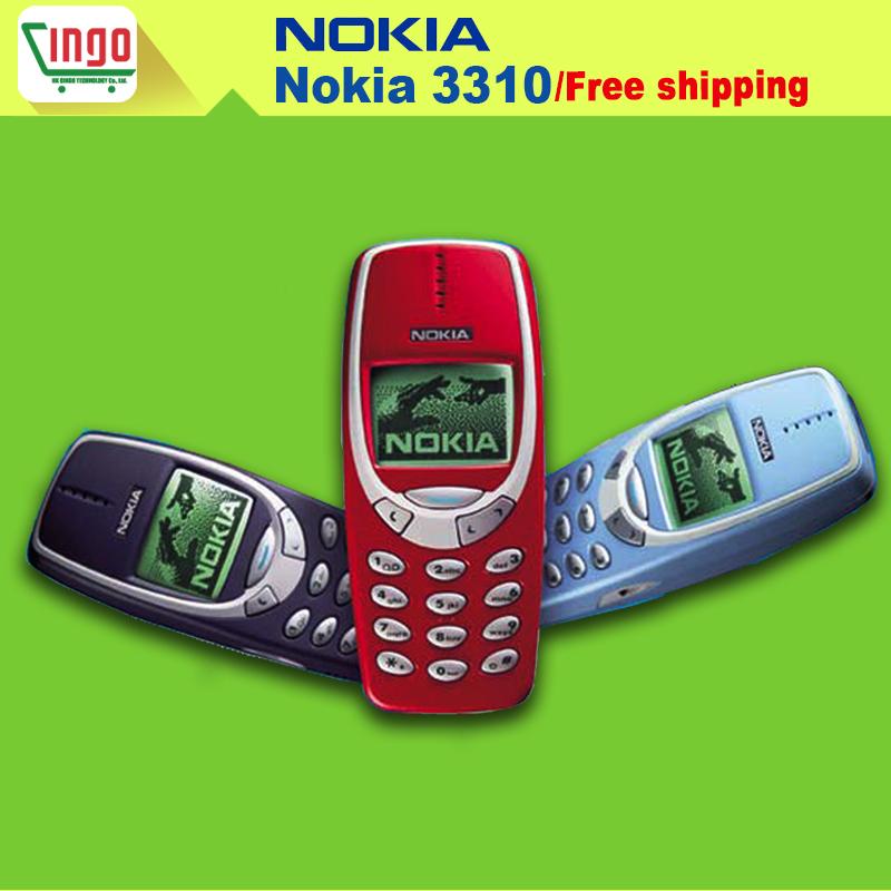 Nokia 3310 original entriegelt handy mit englisch tastatur und multi sprachen! Versandkostenfrei