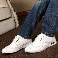 Men shoesleather shoes Daily leisure low help shoes Fashionable retro oxfords men's shoes men sneakers