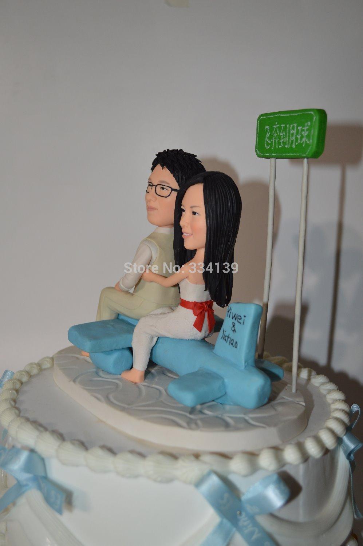 Cheval gâteau de mariage Toppers