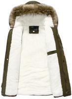 Men's Fur Collar Csual Coat Male Thickening Velvet Outwear Hooded Military Jackets Winter Jacket Men Parkas Coats
