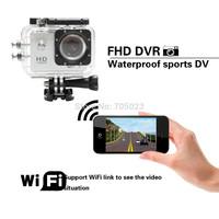 Two battery Sj4000 Wifi Sport camera Videos HD1080P 30FPS Waterproof Camera Underwater Sport Cameras Sport DV Gopro