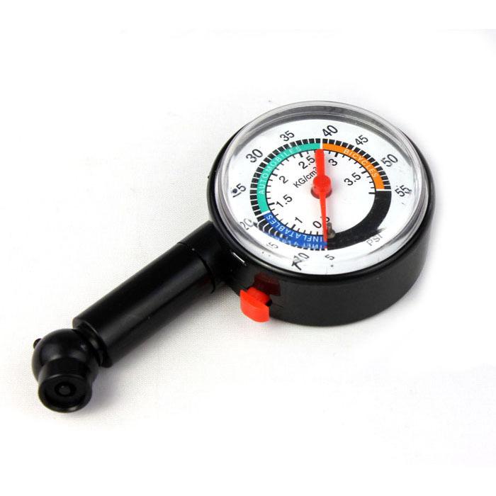 Salesnew автоматический двигатель автомобиль велосипед шина давление воздуха измеритель циферблат метр автомобиль тестер