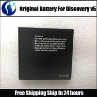 Discovery v5 Battery 100% Original 1800mAh Li-ion Battery For Discovery v5 V5+ V5W Smart Phone Free Shipping