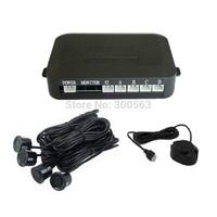 Free shipping Car buzzer Parking Sensor Kit,Parking Reverse Backup Radar System with 4 Sensors,car parking sensor