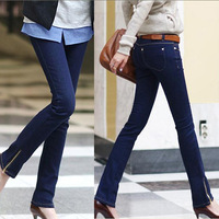 Fashion Skinny Style Women Pencil Jeans Large Size L-3XL Quality OL Style Gils Long Trousers 2014 Lady Casual Denim Pants