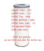 Arctic Spa Pure Silver Sentinel Filter for 2008 and earlier Arctic Spa models Premium filter top quality