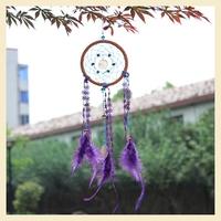 Purple Indian Wind chime pendant home decor Dream Catcher Korea TV drama program Heirs Dreamcatcher charm wind chimes B7808