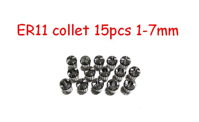 Инструментальная оправка Thomas CNC 15pcs er11 1 7 ,