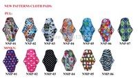 Hot Selling Sanitary Napkins Washable New Pattern Mama Cloth Pads Free Shipping
