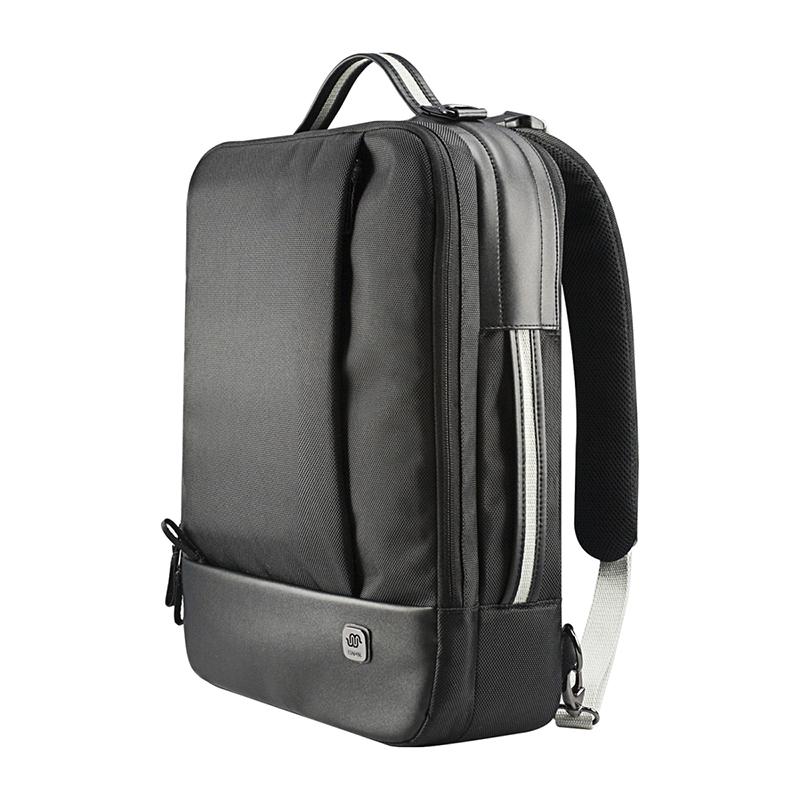 """HABIK Stylish Multipurpose Laptop Computer Backpack Messenger Shoulder School Bag Case for Notebook Macbook Lenovo 15"""" Black(China (Mainland))"""