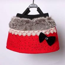 Korean Baby Kids Girls Infant Cute Bowknot Mini Skirt Many Stars Drizzle Short Skirts 2-7Y Free shipping & Drop shipping(China (Mainland))