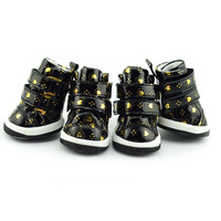 Puppy Pet Dog Anti-slip Waterproof Sporty Shoes Sneakers Breathable Hole Boots