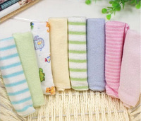 "8pcs/pack Gerber towel baby wash cloth 9""x9"" infant towel baby feeding towel handkerchief Free shipping"