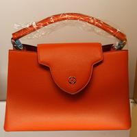 Genuine leather handbag capucines MM tote M94431 M94410 M94411 M94412 M94413 M48861 M48864 M48865 M48866 M48868 M48869