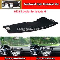 Dashboard Cover Mat for Mazda 6 sun block mat New Material Fireproof Polyester Fiber