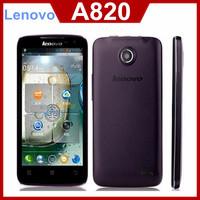 "Original lenovo A820 phone MTK6589 Quad core 1.2GHz 4.5"" Ips 960*540 px 8.0mp camera 2000mAh smartphone"