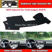 Dashboard Cover Mat for Volkswagen VW Golf  6, sun block mat ,New Material Fireproof Polyester Fiber