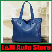 2014 new fashion diagonal portable shoulder bag lady bag leather handbags free shipping C12