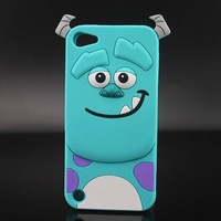 For ipod touch 5 case cute silicone sulley design cases covers for ipod touch 5 5g