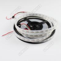 LED Pixel Strip WS2812B DC5V 60Leds/M  IP67 Waterproof 5050 RGB LED Strip Change Color 240leds/roll For  Smart LED project