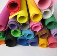 wholesale color 50*50cm sponge foam paper for background folden scrapbook craft Punch stamping up die DIY gift decor card toy