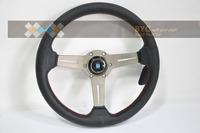 Nard1 Titanium Noble  Leather Series !! Racing Drafting Steering Wheels.Car-man -Build Your Car