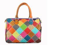 New arrival 2015 Genuine Leather bag Women Handbag Portable Shoulder Bags Female Women Messenger Bag 87035