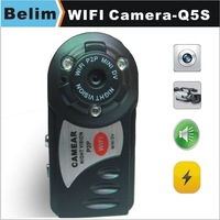 Free Shipping Mini WiFi Camera Q5S Play Security P2P Camera Baby Pet Monitor 2G/3G Network Available
