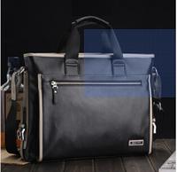 Men's casual business man bag diagonal high-grade wax leather laptop briefcase shoulder  vertical  40*30*8CM  NBG125 Y8PB