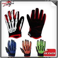 Motocross Gloves Racing Gloves Motorcycle Motorbike Pro-biker Full Finger Red/Green/Blue/Orange CE-04 M/L/XL  Free Shipping