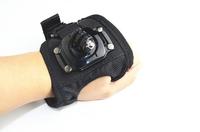 Hot Gopro accessories 360 Gopro Hand Palm Glove-style Mount Wrist Strap Holder Strap Adapter for GoPro Hero3+/ 3/2/4