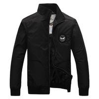 Mental Symbol Design Men Super Pilot Basic Coats Size M-2XL Windproof & Waterproof Outdoor Fashion Men Military Casual Jackets