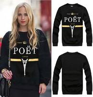 2014 Versa Hip-hop style men women's Eiffel Tower printed letters 3d print pullover GIV Brand Galaxy Sweatshirts Hoodies Tops
