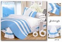 Solid color bedding set king size hot sale bed cover cotton comforter set bed set
