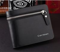 New arrival High Quality Men's Wallet  Vintage London designer's leahter Purse zipper card wallet short wallet free shipping