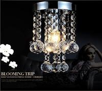free shipping 110V-240v Luxury Modern crystal chandelier lighting 150mm 200mm 250mm lamp