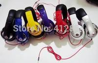 on sale NEW Mp3 Mp4 Earphones Computer Headset Earphones bass Folding Mobile Phone Headphones FreeShipping