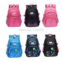 Promotion 2014 waterproof Nylon good quality children school bags kids school backpack mochila infantil free shipping