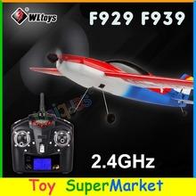 RC avião planador aeromodelo RTF avião de controle remoto aeromodelo elétrico FPV Paraglider 2014 Nova RC Toys WLTOYS F929 F939(China (Mainland))