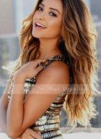 Brazilian Virgin Hair 1b/30/27 Ombre Hair Wig Full Lace Human Hair Wigs Lace Front Wigs No Tangling No Shedding
